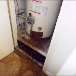 water heater overflow
